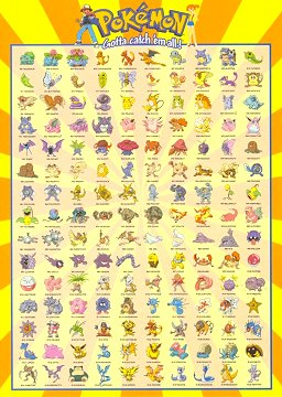 pokemon postcards published by gb posters